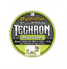 Леска плетеная KAMATSU TECHRON OLIVE GREEN 10 м